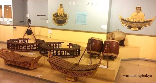 Cultural Center of the Philippines collection of Thai Traditional Musical Instruments