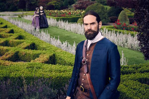 Outlander's Murtagh Fraser (Duncan Lacroix). Photo from blogs.wsj.com