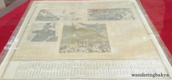 The Birth of the Commonwealth, a 1936 calendar