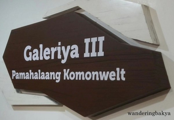 Gallery III, Pamahalaang Komonwelt (Commonwealth Government).