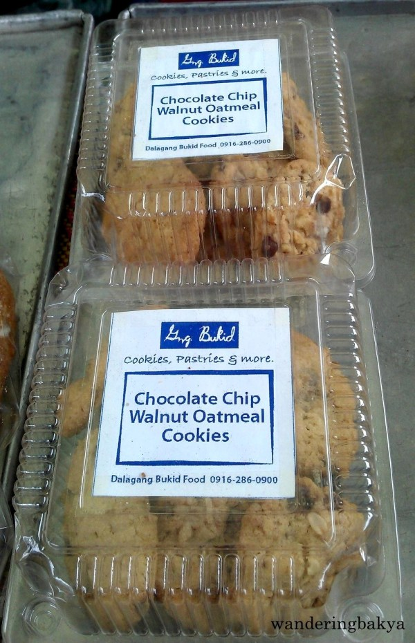 Gng. Bukid Chocolate Chip Walnut Oatmeal Cookies