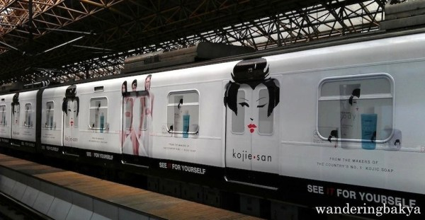 """The Kojie San ad appeals to women who want to """"bring their skin to light""""."""