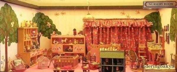 Miniature nursery room