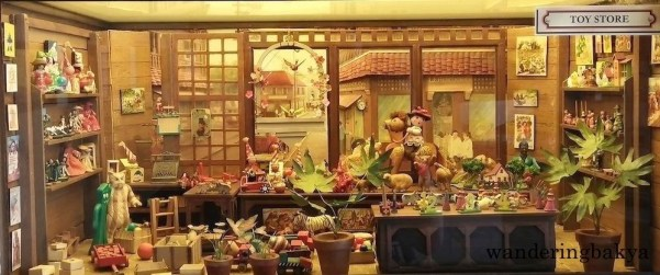 Miniature toy store