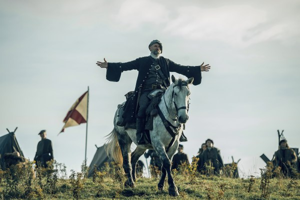 Outlander's Dougal MacKenzie (Graham McTavish). Photo from vertele.com