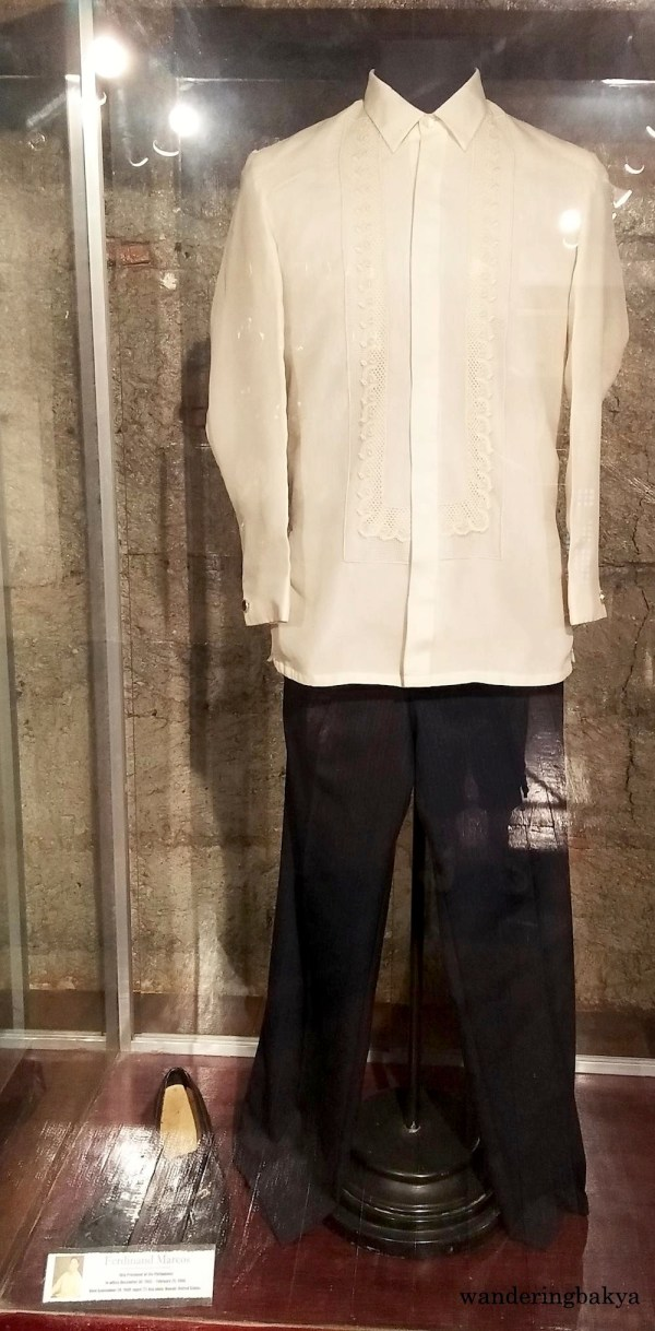 Former President Ferdinand Marcos, also known as Malakas (strong), wore Barong Tagalog in official functions.