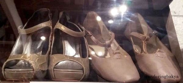 Shoes of Actress and Recording Artist Maria Margarita Amada Fteha Isidro popularly known as Agot Isidro