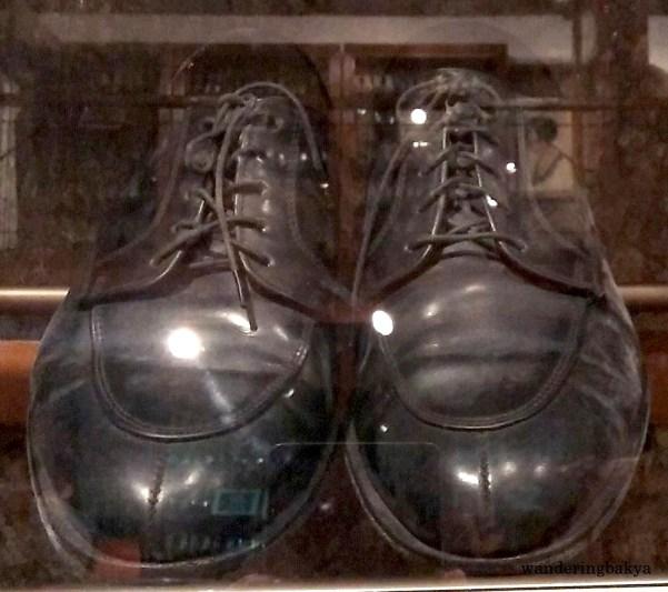 Shoes of Senator Francisco Nepomuceno Pangilinan