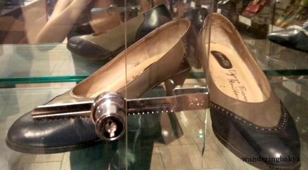Shoes of 2016 Ramon Magsaysay Awardee Ligaya Fernando-Amilbangsa
