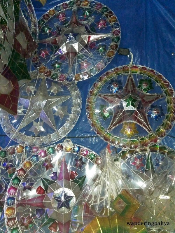 Capiz lanterns are available all year round in the area.