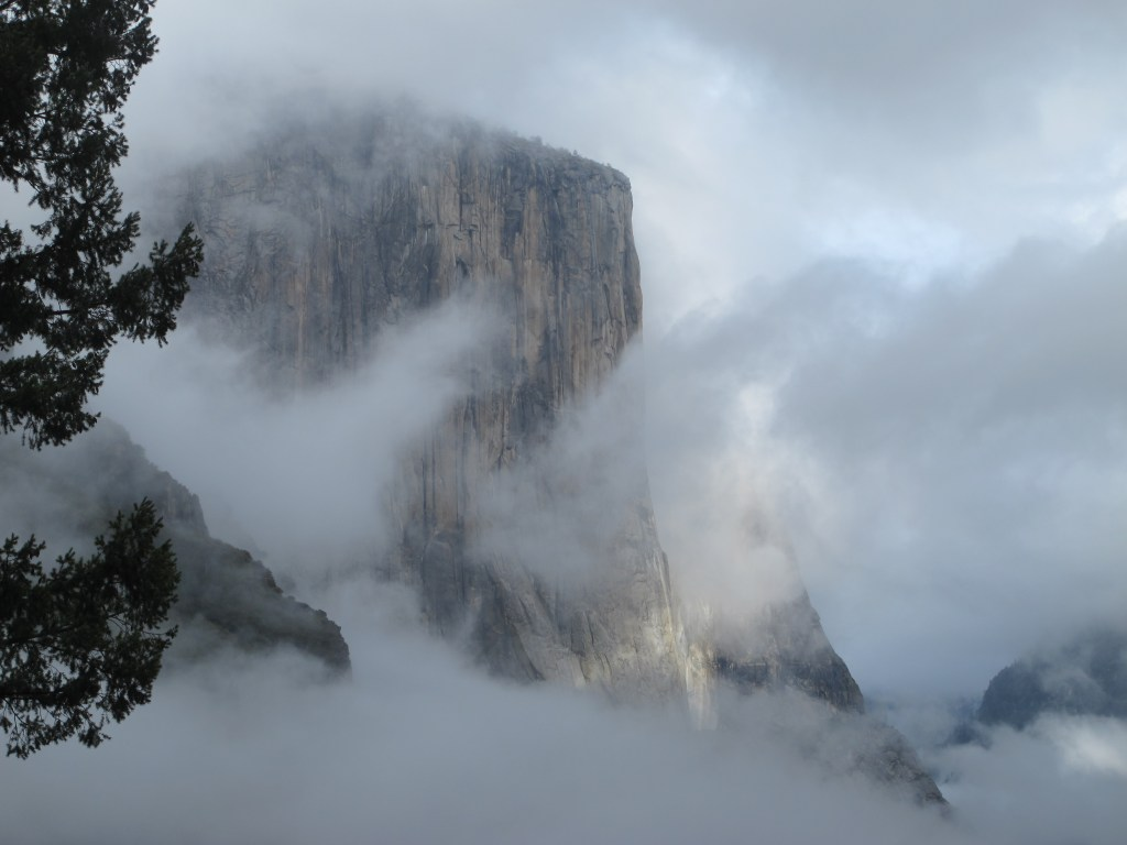 El Capitan in Yosemite National Park is One of the Largest Granite Monoliths in the World