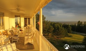 Matt Emerson WBNL Blair Hill Inn Porch Maine