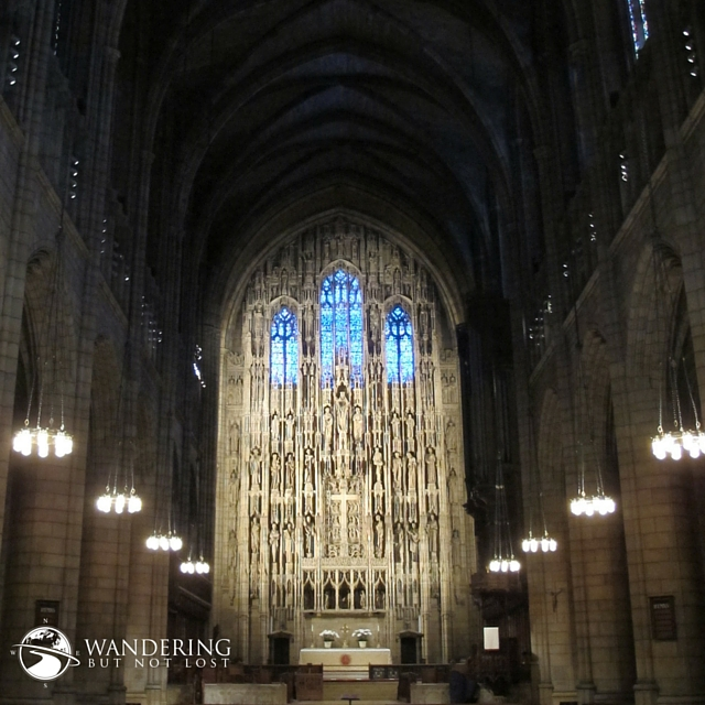 ST PATRICK'S CATHEDRAL – THROUGH MY EYES