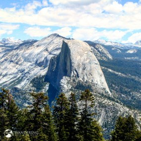 Half Dome from Sentinel Point