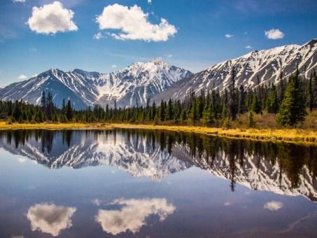 St. Elias Mountain View