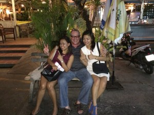 Pain & suffering under martial law - with my dear friends May and Oi