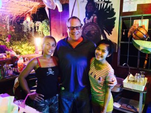 brian antie neice at bamboo