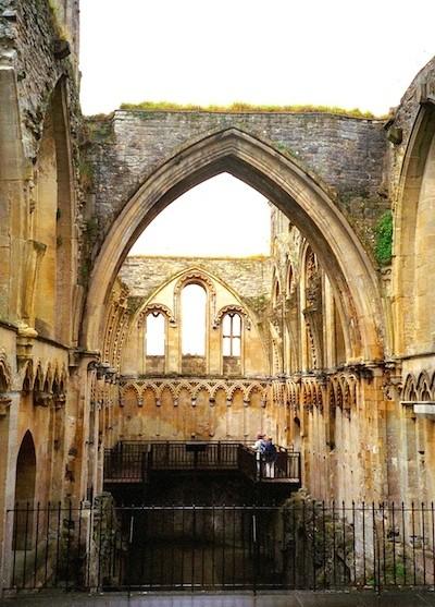 Pilgrimage to Glastonbury, Lady's Chapel in Glastonbury Cathedral