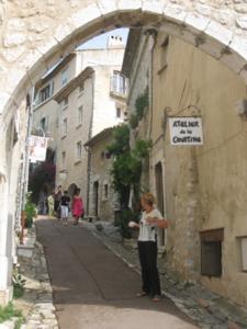 Street in Saint-Paul-de-Vence