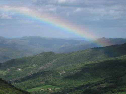 France Budget Tips for Vacation Rentals Rainbow in the Cevennes