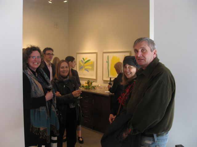 William Perehudoff art show in Victoria