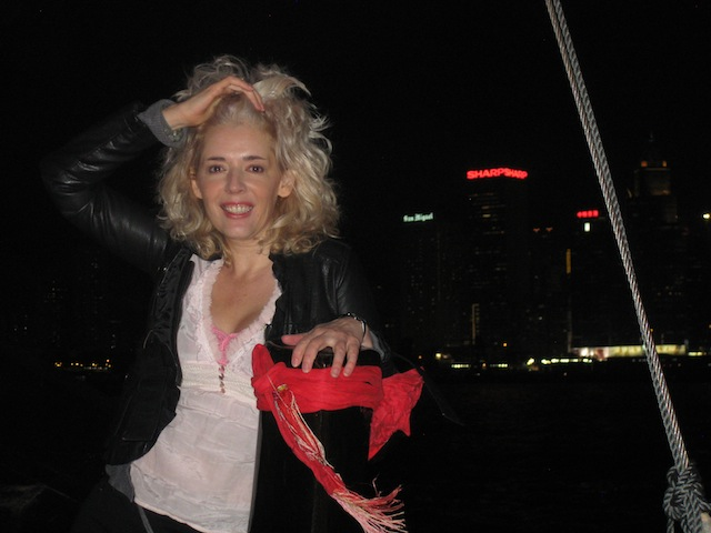 Channelling the Bachelorette in Hong Kong on the Aqua Luna