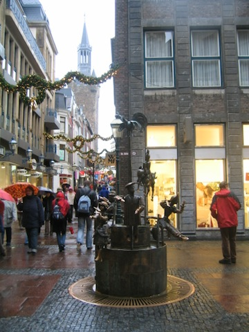 Visit Aachen and its cobbled streets