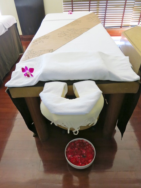 Spa vacations and spa press trips in Bangkok Sheraton Orchid Hotel