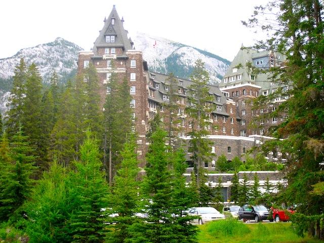 Fairmont Banff Springs hotel picture