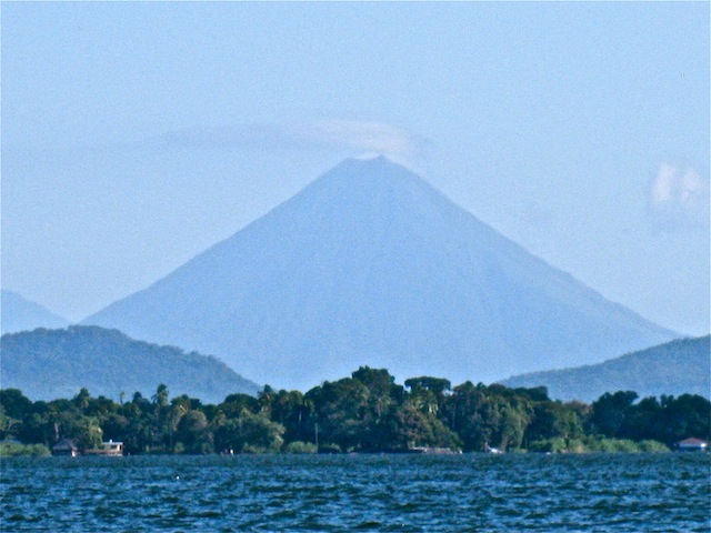 Nicaragua-volcano