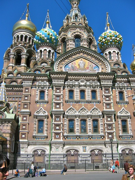 Luxury travel in St Petersburg Russia