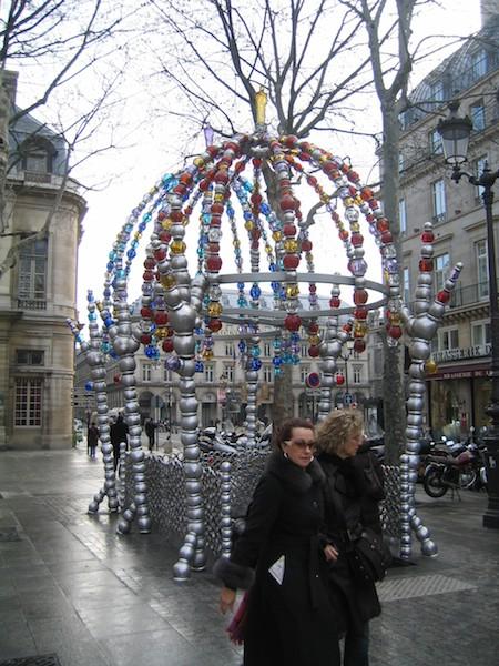 Writing the first chapter of a memoir, Paris at Xmas