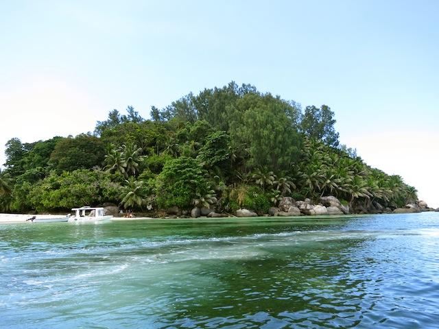 Seychelles islands, Moyenne Island snorkel excursion