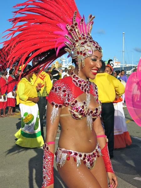 Notting Hill Carnival dancer Seychelles 2014