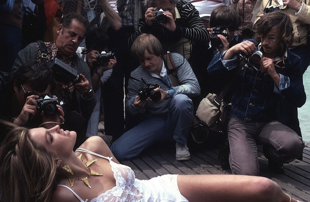 Starlet paparazzi at Cannes Film Festival