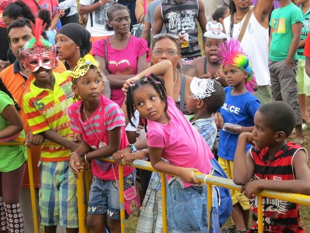 Children at Seychelles Carnival