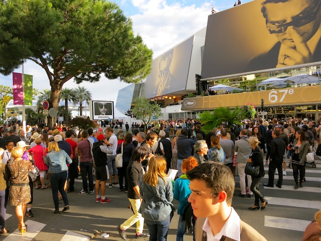 Cannes Film Festival opening night crowds