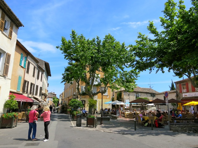 Outdoor restaurants in Biot South of France