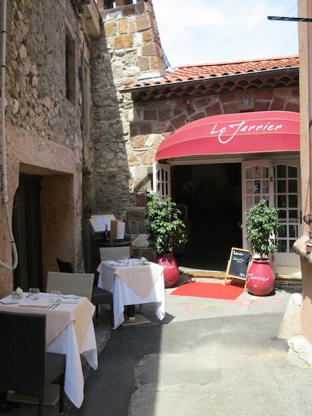 La Jarriere top restaurants in Biot France