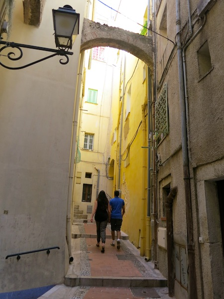 Old Town Menton South of France