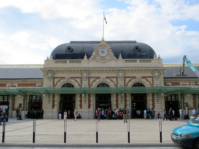 Nice Ville Train Station South of France