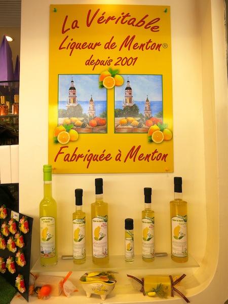 Lemon souvenirs of Menton South of France