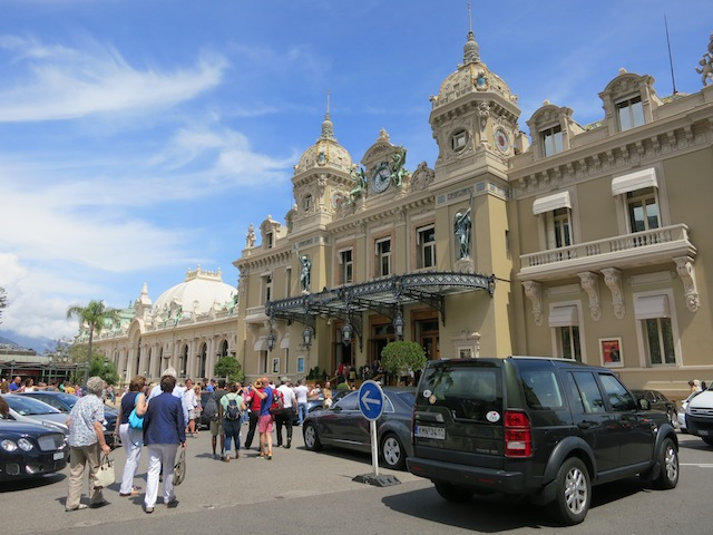 Monte Carlo Casino on Place du Casino in Monace