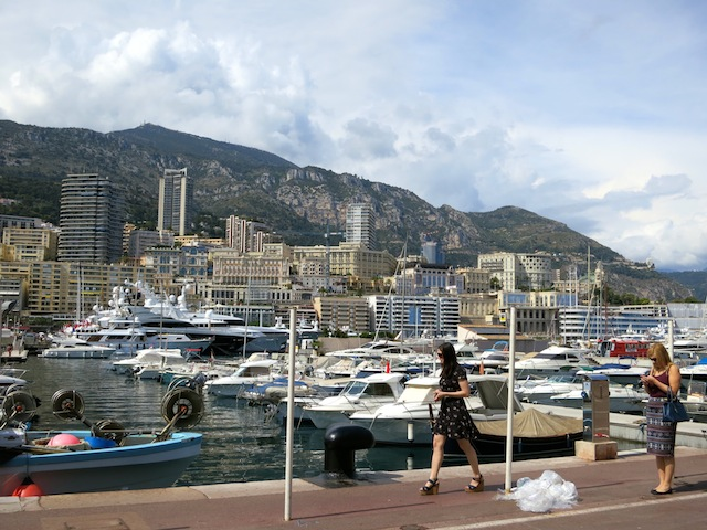 One day in Monaco, Quai Antoine