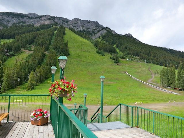 Mount Norquay in Banff Canada in summer