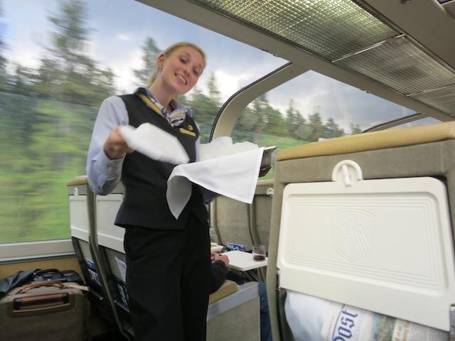 Luxury train routes Rocky Mountaineer