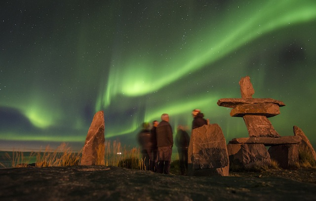 Adventure Canada in Churchill northern lights