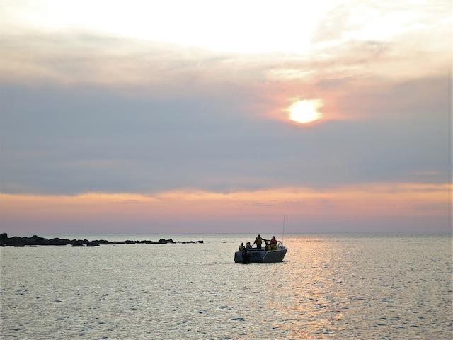 Boat on Hudson Bay