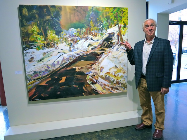 Art trip to Edmonton David Alexander at Peter Robertson Gallery