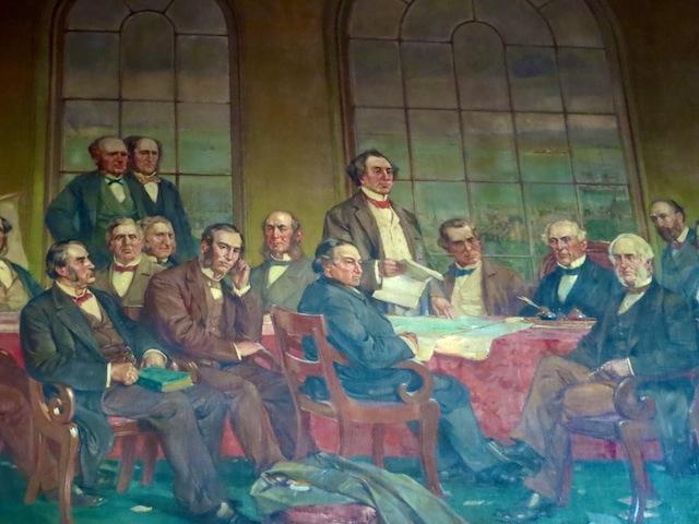 Edmonton art trip, Fathers of Confederation